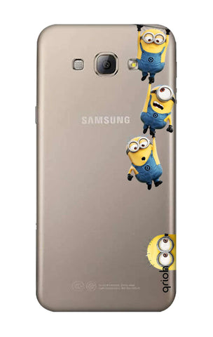Falling Minions Samsung A8 Cases & Covers Online