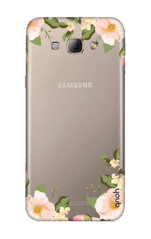 Flower In Corner Samsung A8 Cases & Covers Online