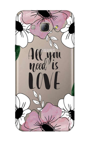 All You Need is Love Samsung A8 Cases & Covers Online