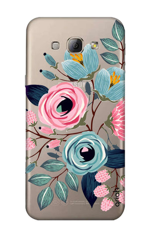 Pink And Blue Floral Samsung A8 Cases & Covers Online