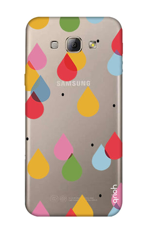 Colourful Drops Samsung A8 Cases & Covers Online