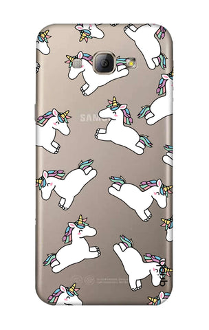 Jumping Unicorns Samsung A8 Cases & Covers Online