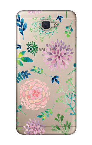 Lillies, Orchids And Leaves Samsung J7 NXT  Cases & Covers Online