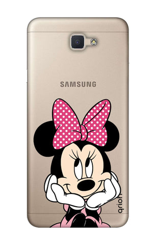 Minnie In Deep Thinking Samsung J7 NXT  Cases & Covers Online