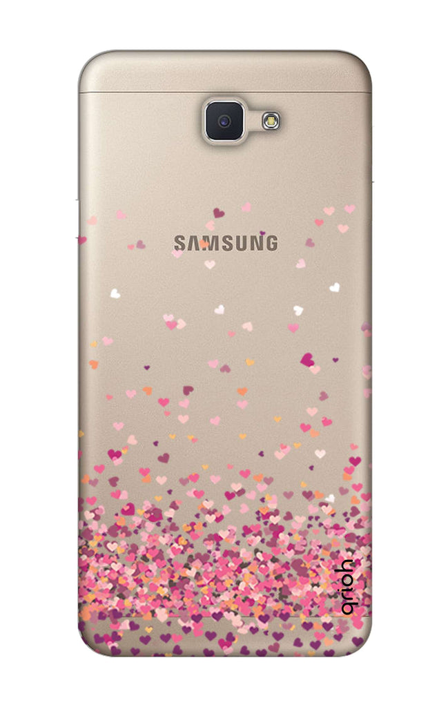the best attitude 860dc 487fc Cluster Of Hearts Case for Samsung J7 NXT