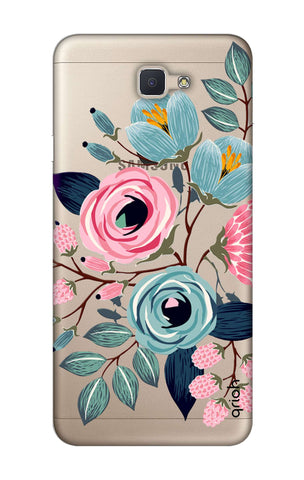 Pink And Blue Floral Samsung J7 NXT  Cases & Covers Online