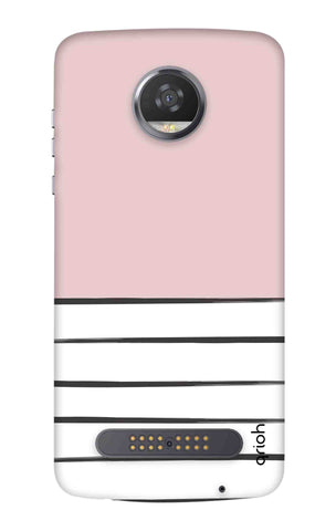 Horizontal Stripe Motorola Moto Z3 Play Cases & Covers Online