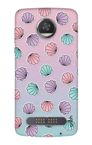 Gradient Flowers Motorola Moto Z3 Play Cases & Covers Online