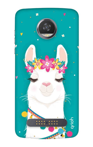 Cute Llama Motorola Moto Z3 Play Cases & Covers Online