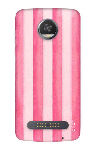 Painted Stripe Motorola Moto Z3 Play Cases & Covers Online