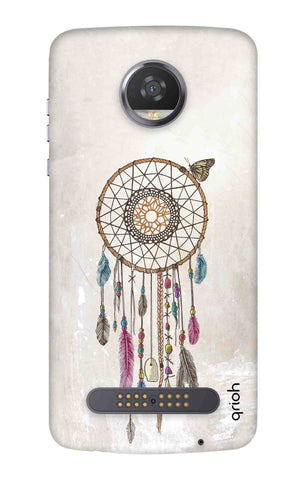 Butterfly Dream Catcher Motorola Moto Z3 Play Cases & Covers Online