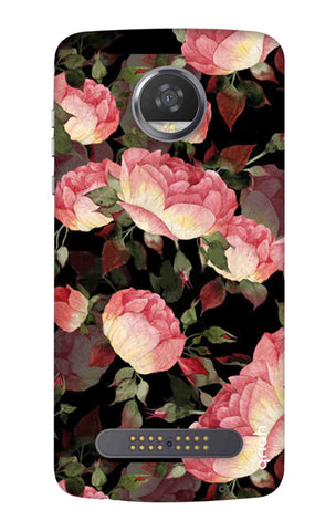 Watercolor Roses Motorola Moto Z3 Play Cases & Covers Online
