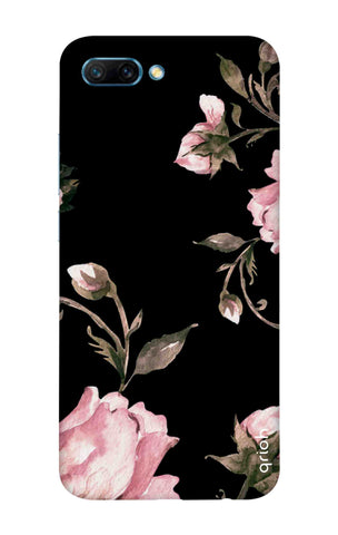 Pink Roses On Black Honor 10 Cases & Covers Online