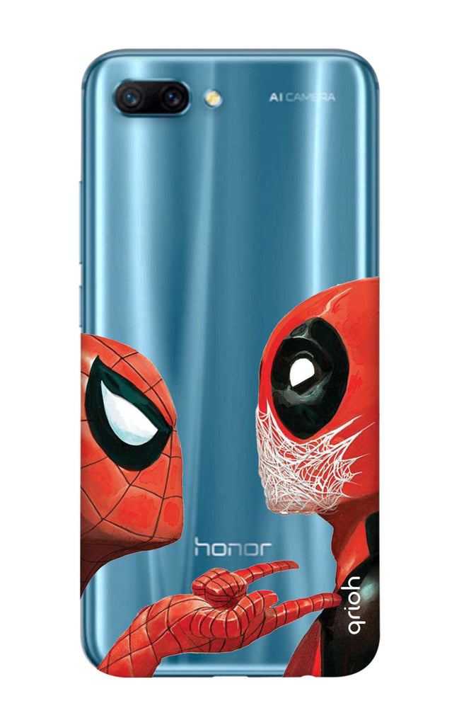 new product 4a654 82bfb Sup Deadpool Case for Honor 10