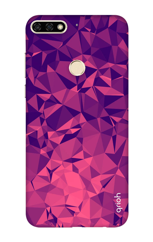 huge discount 3be88 a6664 Purple Diamond Case for Honor 7C