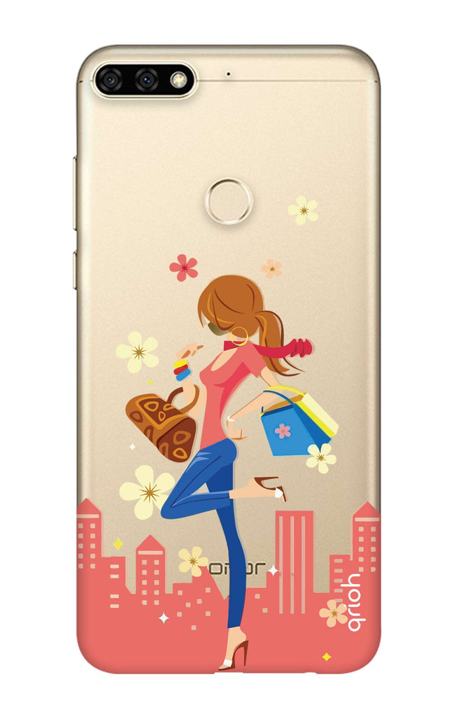 d7cc204fabb Shopping Girl Honor 7C Back Cover - Flat 35% Off On Honor 7C Covers –  Qrioh.com