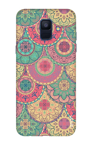 Colorful Mandala Samsung A6 Cases & Covers Online