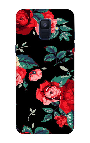 Wild Flowers Samsung A6 Cases & Covers Online