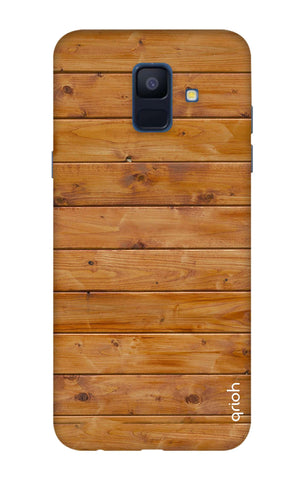 Natural Wood Samsung A6 Cases & Covers Online