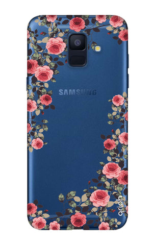 Floral French Samsung A6  Cases & Covers Online