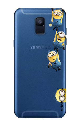Falling Minions Samsung A6  Cases & Covers Online