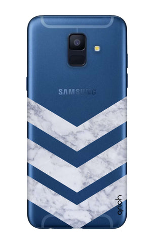 Marble Chevron Samsung A6  Cases & Covers Online