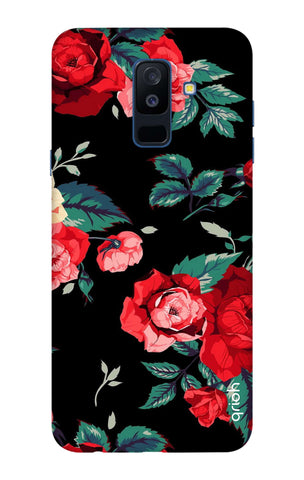 Wild Flowers Samsung A6 Plus Cases & Covers Online