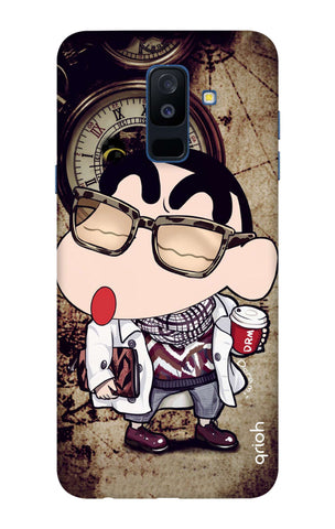 Nerdy Shinchan Samsung A6 Plus Cases & Covers Online