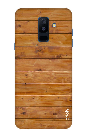 Natural Wood Samsung A6 Plus Cases & Covers Online