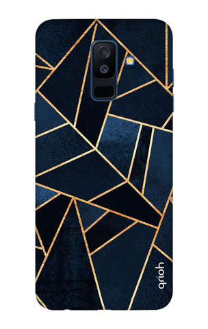 Abstract Navy Samsung A6 Plus Cases & Covers Online