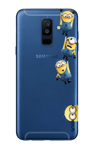 Falling Minions Samsung A6 Plus  Cases & Covers Online