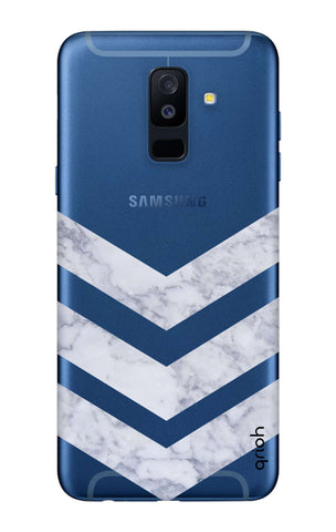 Marble Chevron Samsung A6 Plus  Cases & Covers Online