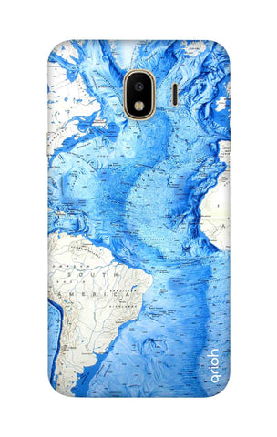 World Map Samsung J4 Cases & Covers Online