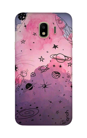 Space Doodles Art Samsung J4 Cases & Covers Online