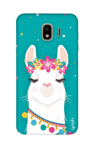 Cute Llama Samsung J4 Cases & Covers Online