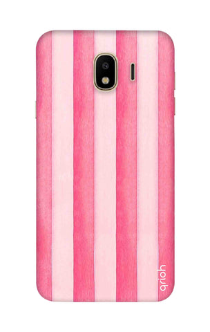 Painted Stripe Samsung J4 Cases & Covers Online