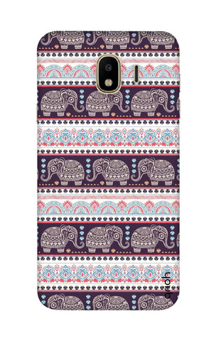 Elephant Pattern Samsung J4 Cases & Covers Online