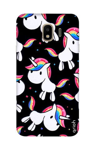 Colourful Unicorn Samsung J4 Cases & Covers Online