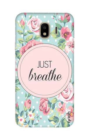 Vintage Just Breathe Samsung J4 Cases & Covers Online
