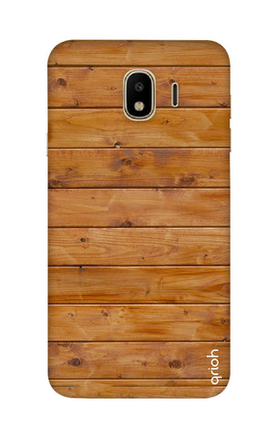 Natural Wood Samsung J4 Cases & Covers Online