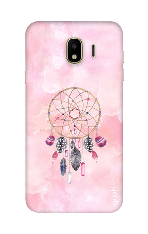 Pink Dreamcatcher Samsung J4 Cases & Covers Online