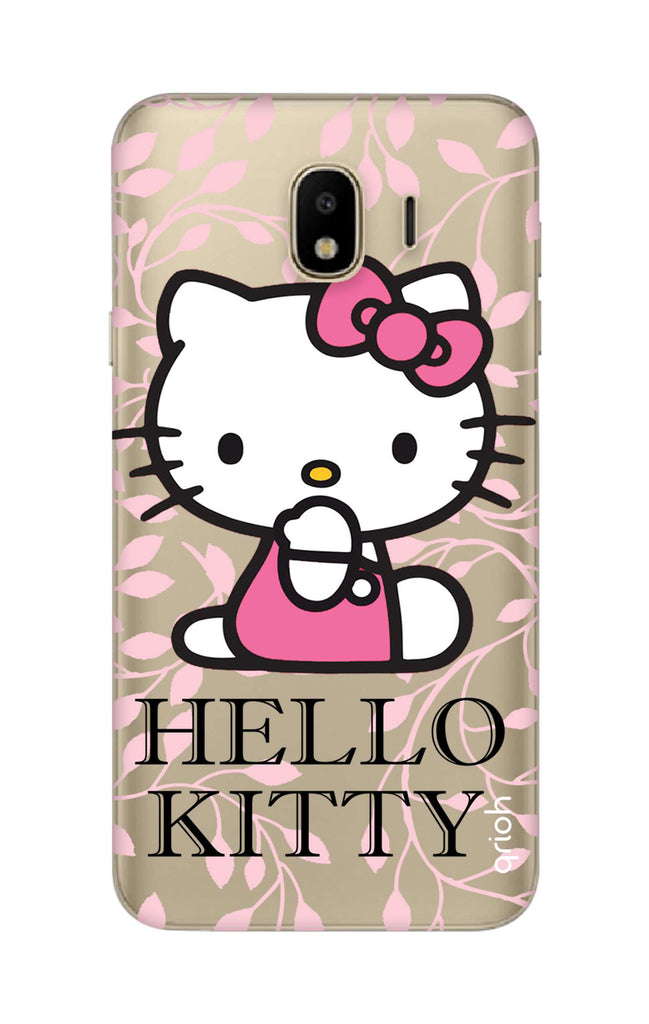 0d03dcc9f Hello Kitty Floral Samsung J4 Back Cover - Flat 35% Off On Samsung J4 Covers  – Qrioh.com