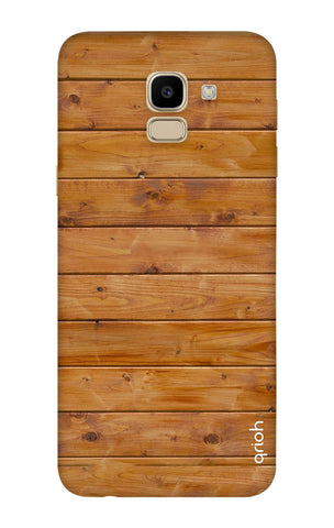 Natural Wood Samsung J6 Cases & Covers Online