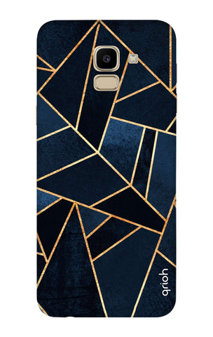 Abstract Navy Samsung J6 Cases & Covers Online