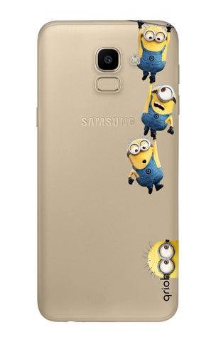 Falling Minions Samsung J6  Cases & Covers Online