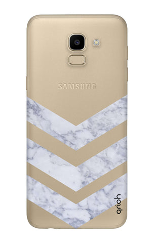 Marble Chevron Samsung J6  Cases & Covers Online