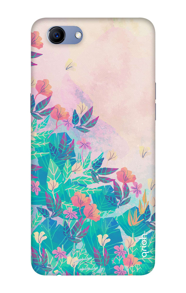 the latest dd199 5715b Flower Sky Case for Oppo Realme 1