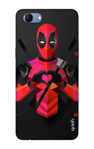 Valentine Deadpool Oppo Realme 1 Cases & Covers Online