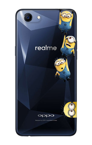 Falling Minions Oppo Realme 1  Cases & Covers Online
