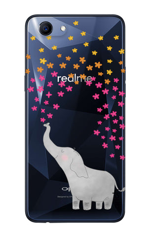 Cute Elephant Oppo Realme 1  Cases & Covers Online